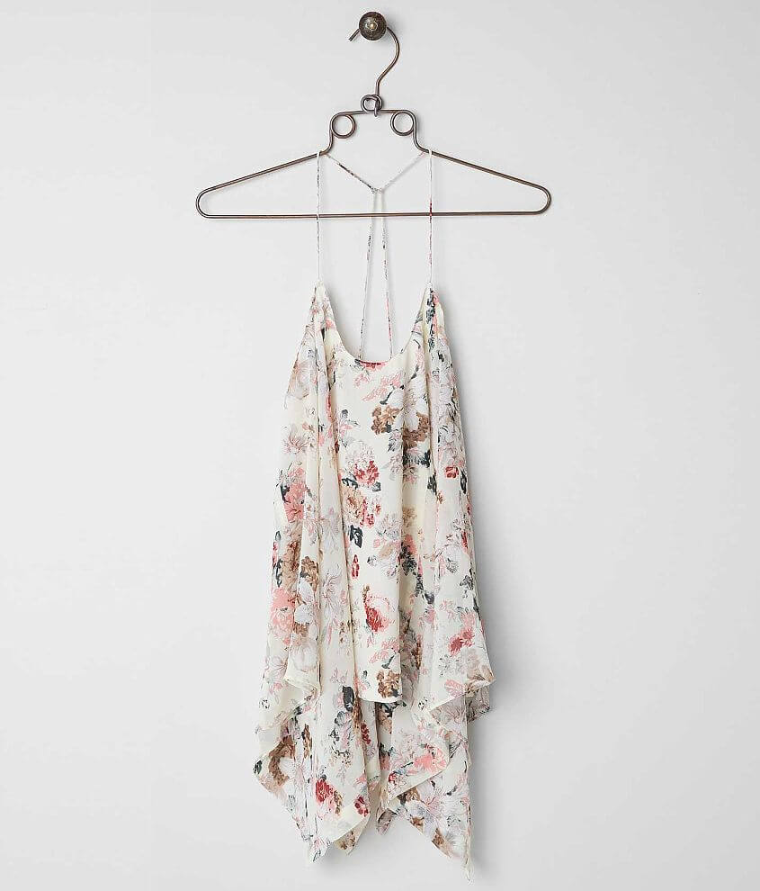 ark & co. Floral Tank Top front view