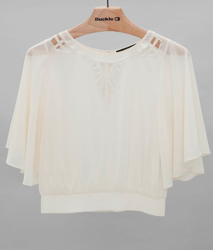 ark & co. Chiffon Top front view