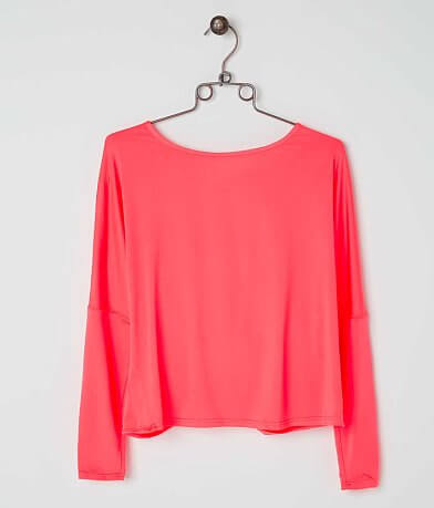 ark & co. Twisted Hem Top