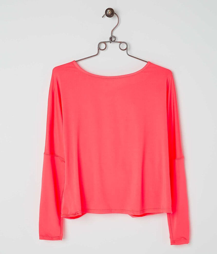 ark & co. Twisted Hem Top front view