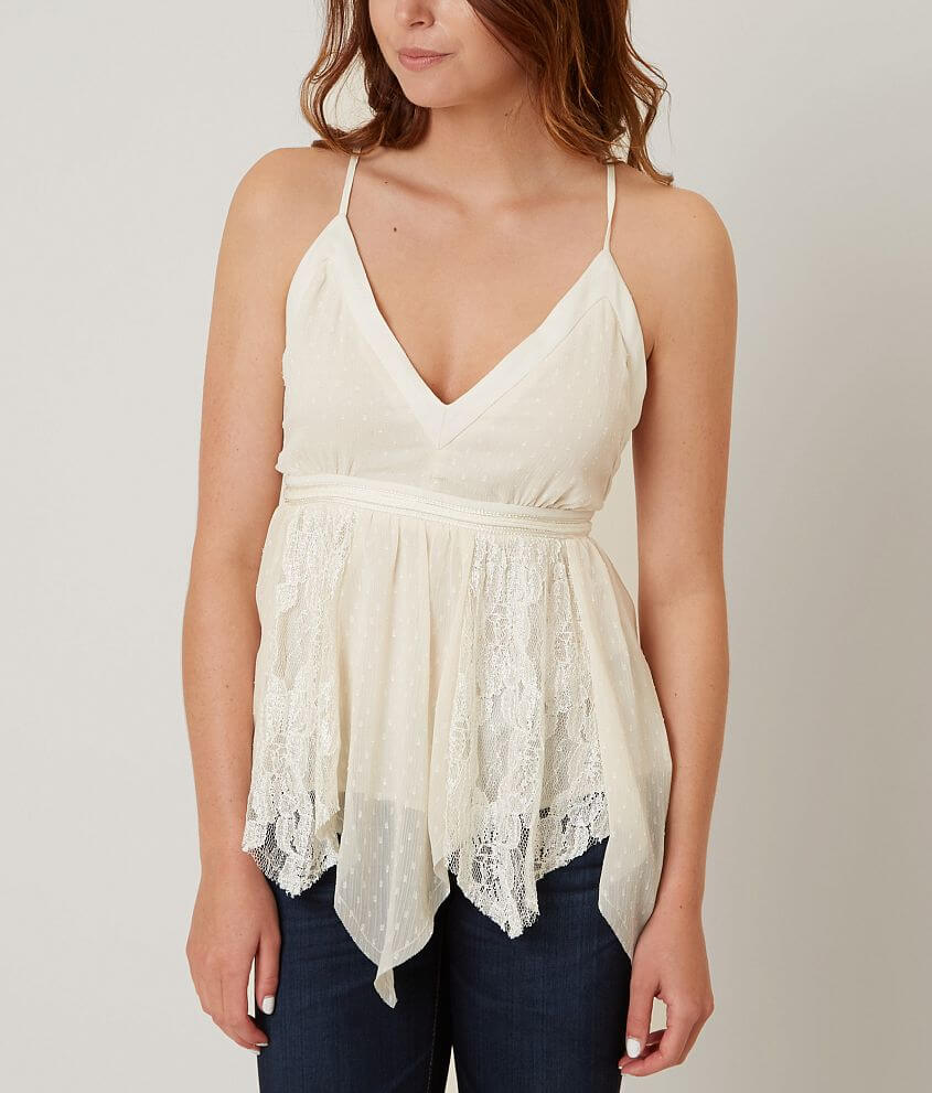 ark & co. Pieced Tank Top front view