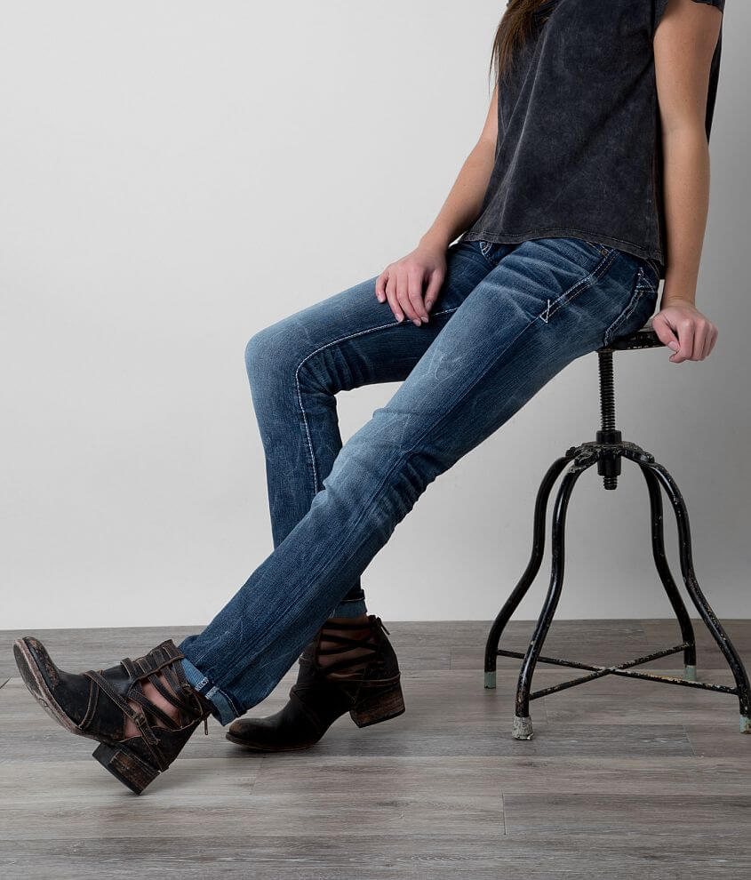 Buckle Black Fit No. 146 Straight Stretch Jean front view