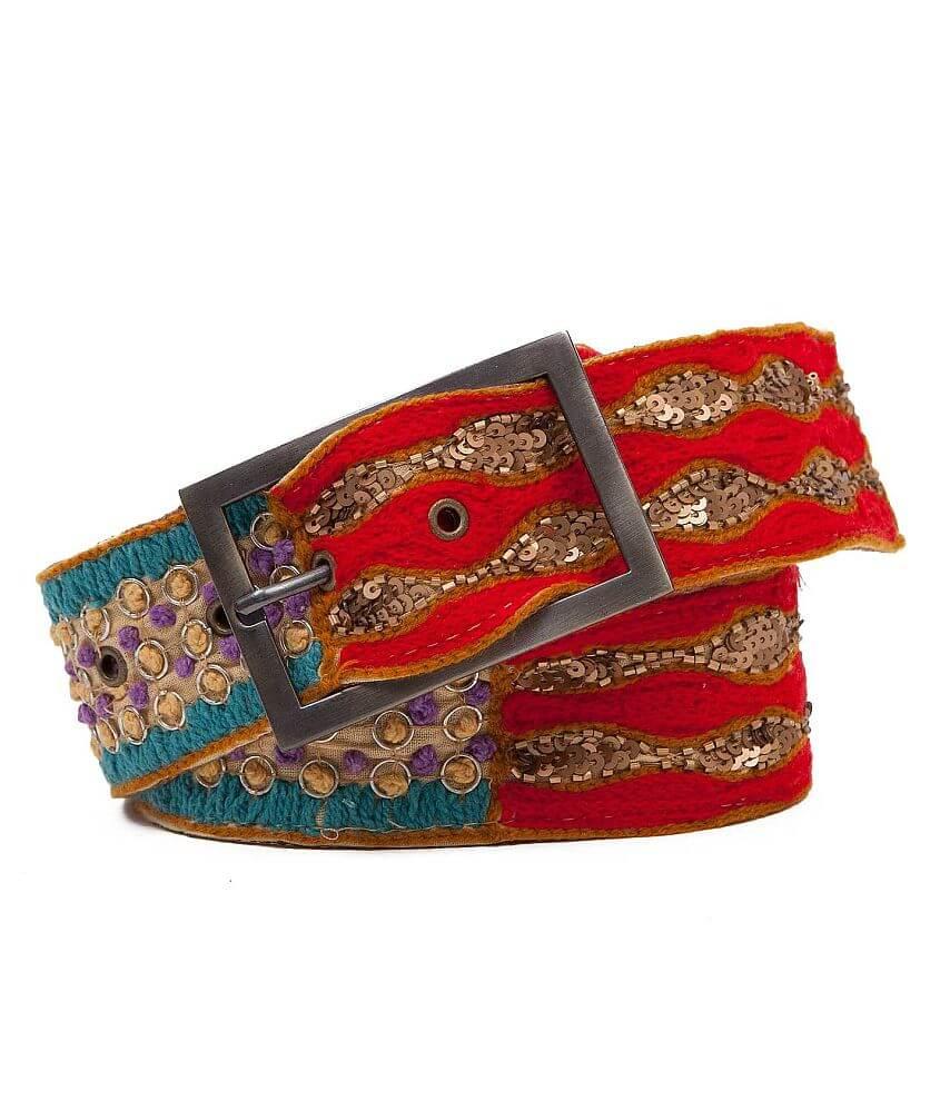 BKE Embellished Belt front view