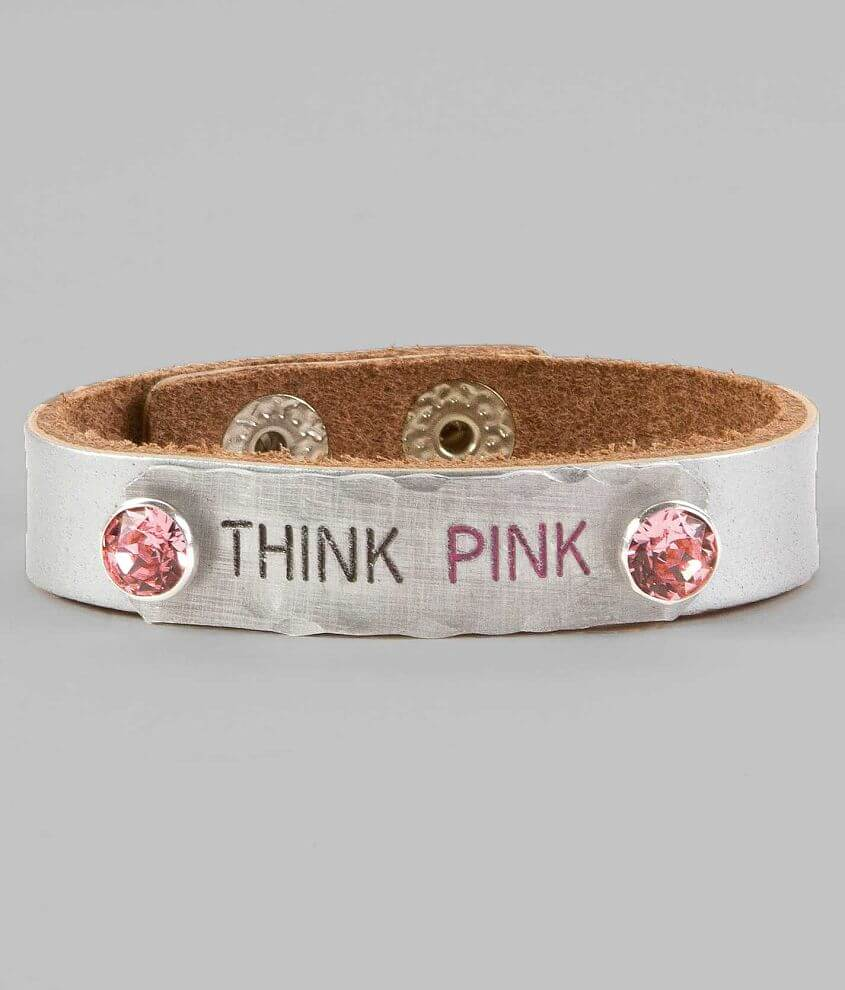 Ash & Ash Think Pink Bracelet front view