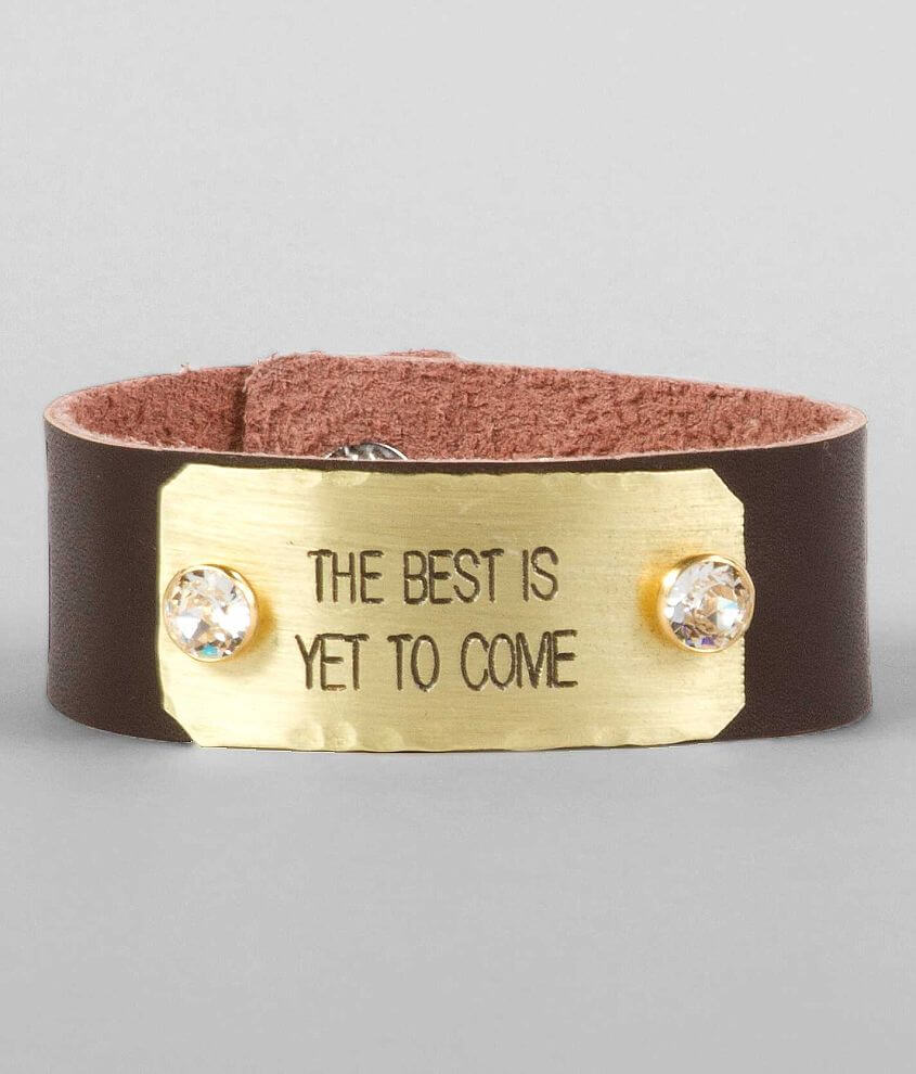Ash & Ash The Best Is Yet To Come Bracelet front view