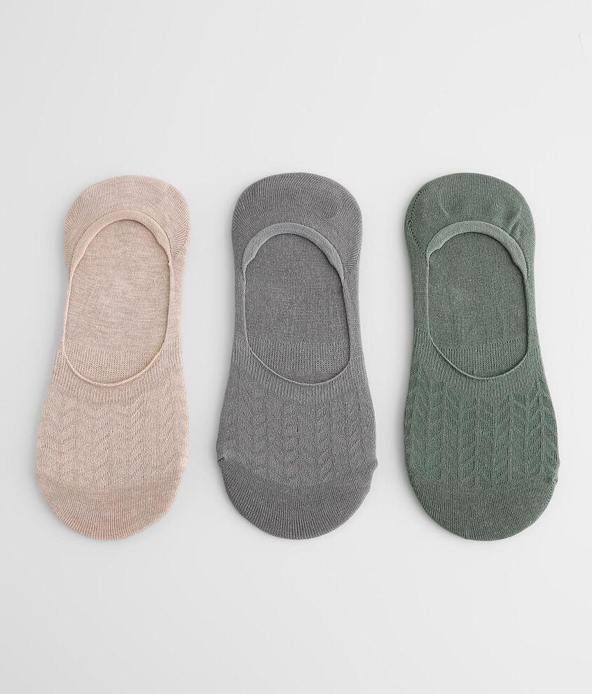 BKE 3 Pack Liner Socks front view