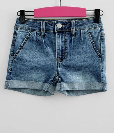Girls - Gloss & Glitter Mid-Rise Cuffed Short