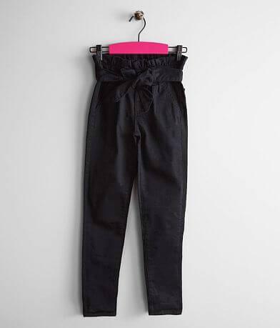Girls - Gloss & Glitter High Rise Ankle Jean