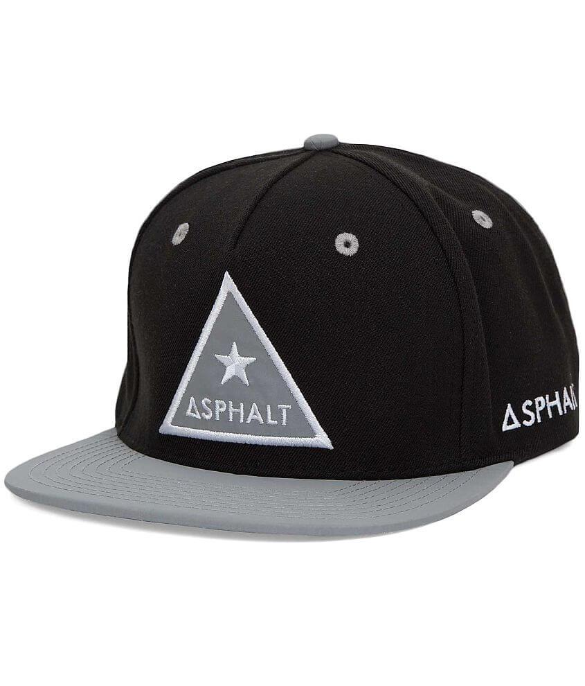 Asphalt Reflective Hat front view