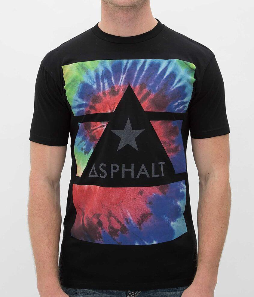Asphalt Tripped Out T-Shirt front view