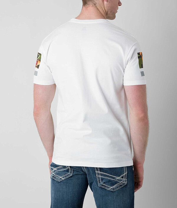 Camo Modern T Floral Asphalt Shirt wExpd