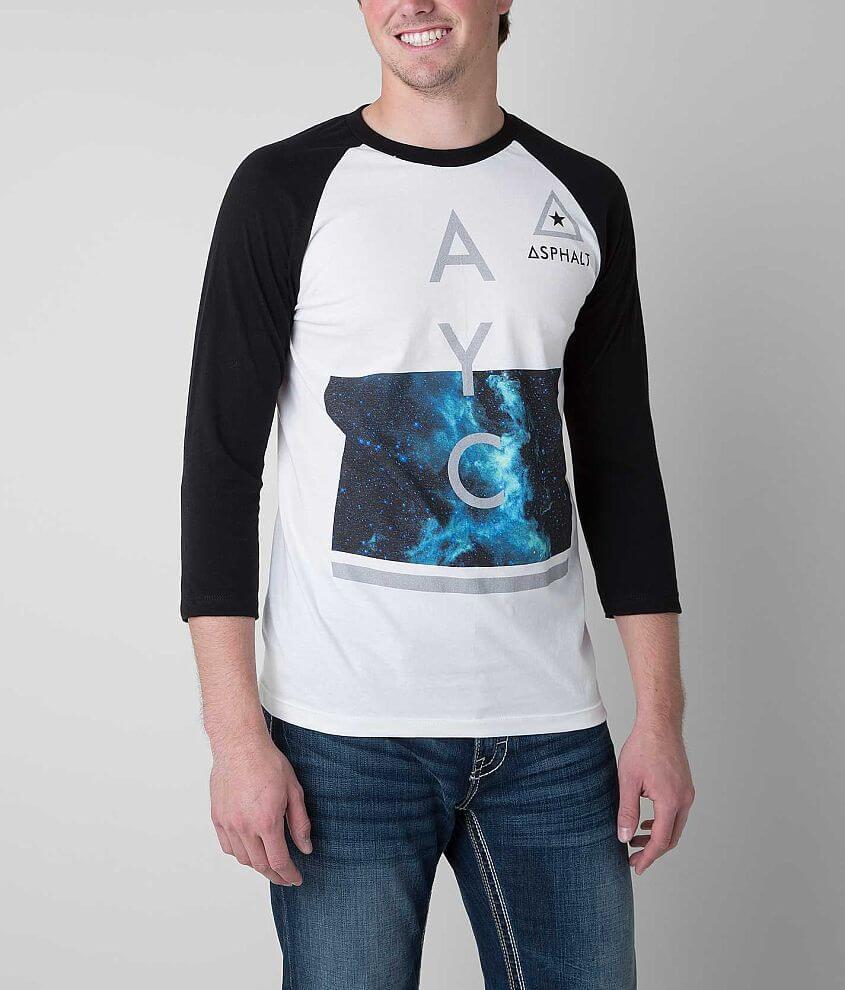 Asphalt Modern Cosmos T-Shirt front view