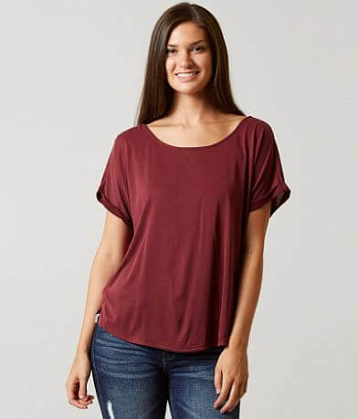 Daytrip Cowl Back Top