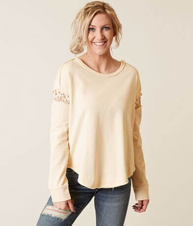 alison andrews Pieced Sweatshirt