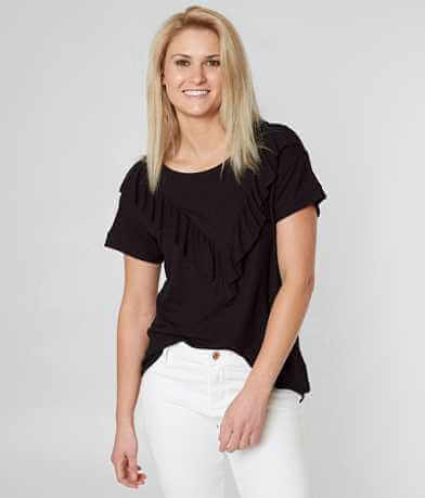 alison andrews Raw Edge Thermal Top