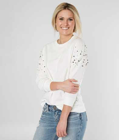 alison andrews Drop Shoulder Sweatshirt