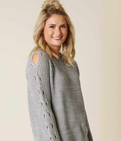 alison andrews Cut-Out Sweater