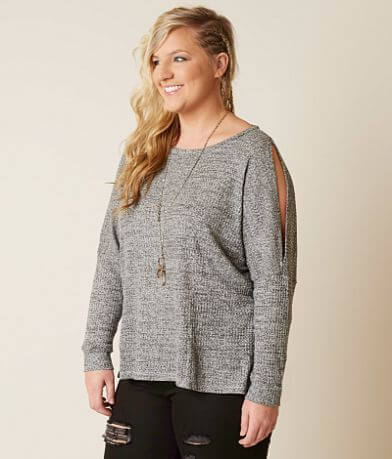 alison andrews Knit Top - Plus Size Only