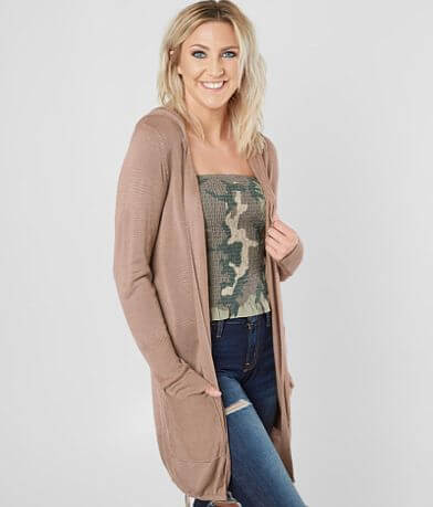Daytrip Hooded Cardigan Sweater
