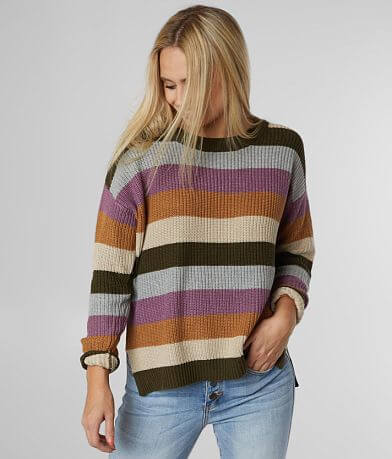 Daytrip Striped Boxy Sweater