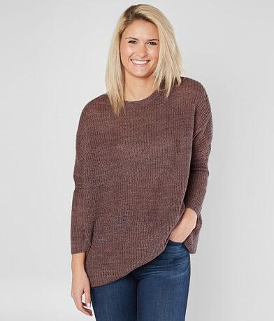 Solutions Oversized Tunic Sweater