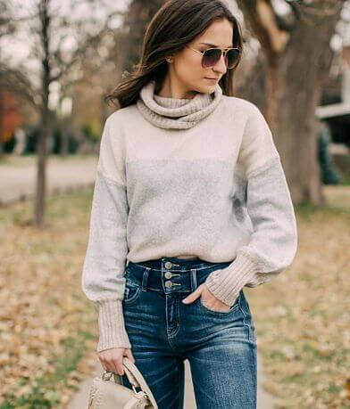 Solutions Colorblock Sweater