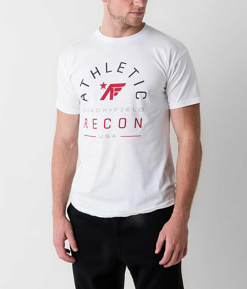 Athletic Recon Track T-Shirt front view