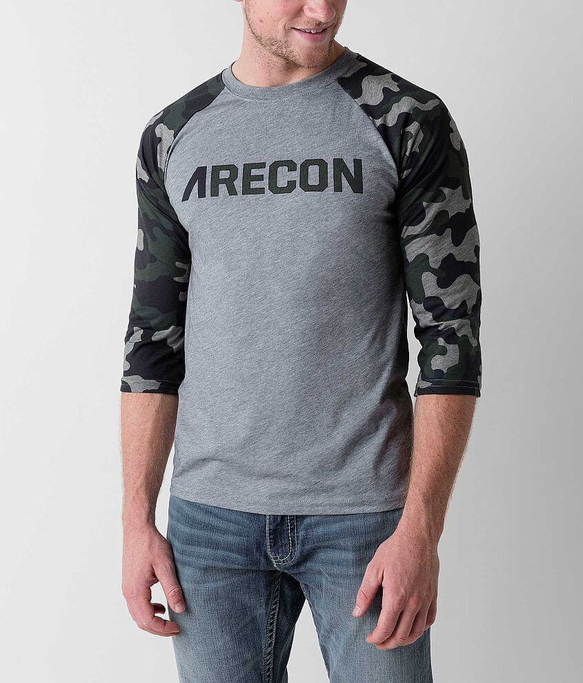 Athletic Recon Si Camo T-Shirt front view