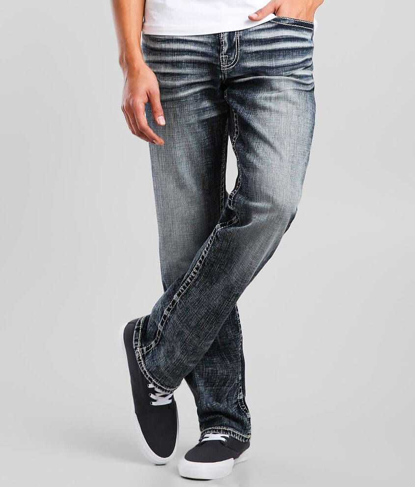 Salvage Anarchy Straight Jean front view
