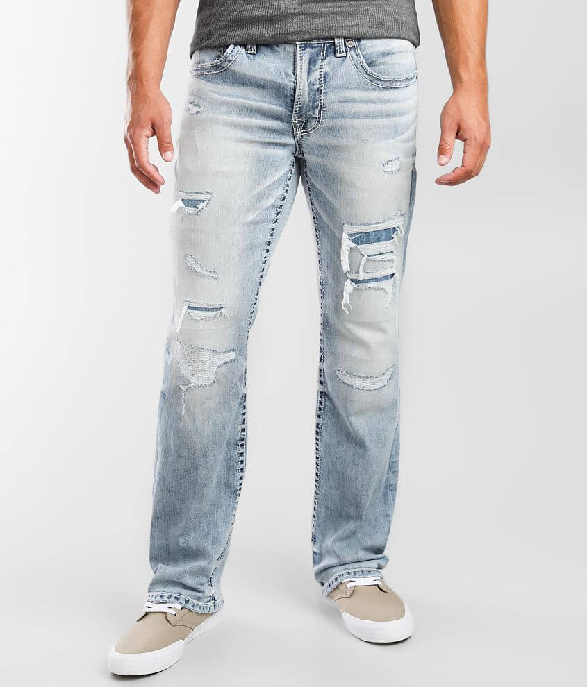 Salvage Mayhem Boot Stretch Jean front view