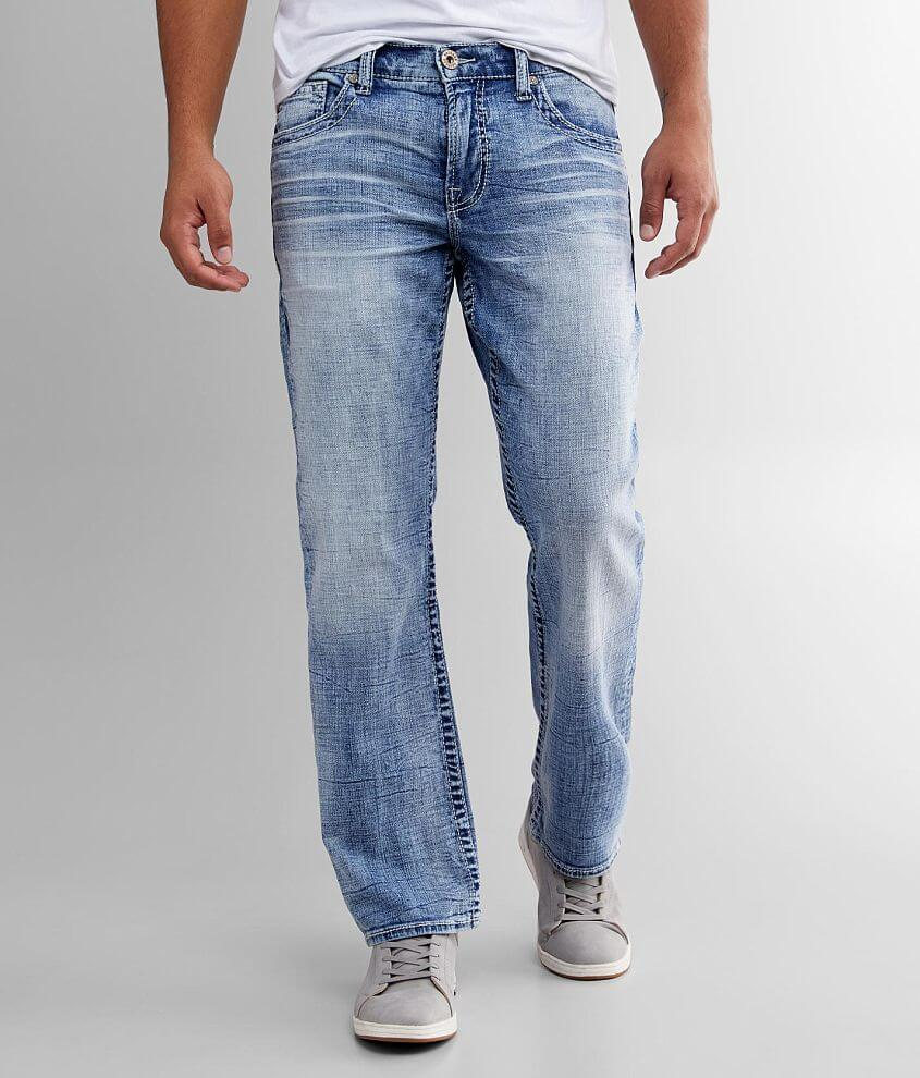 Salvage Anarchy Straight Stretch Jean front view