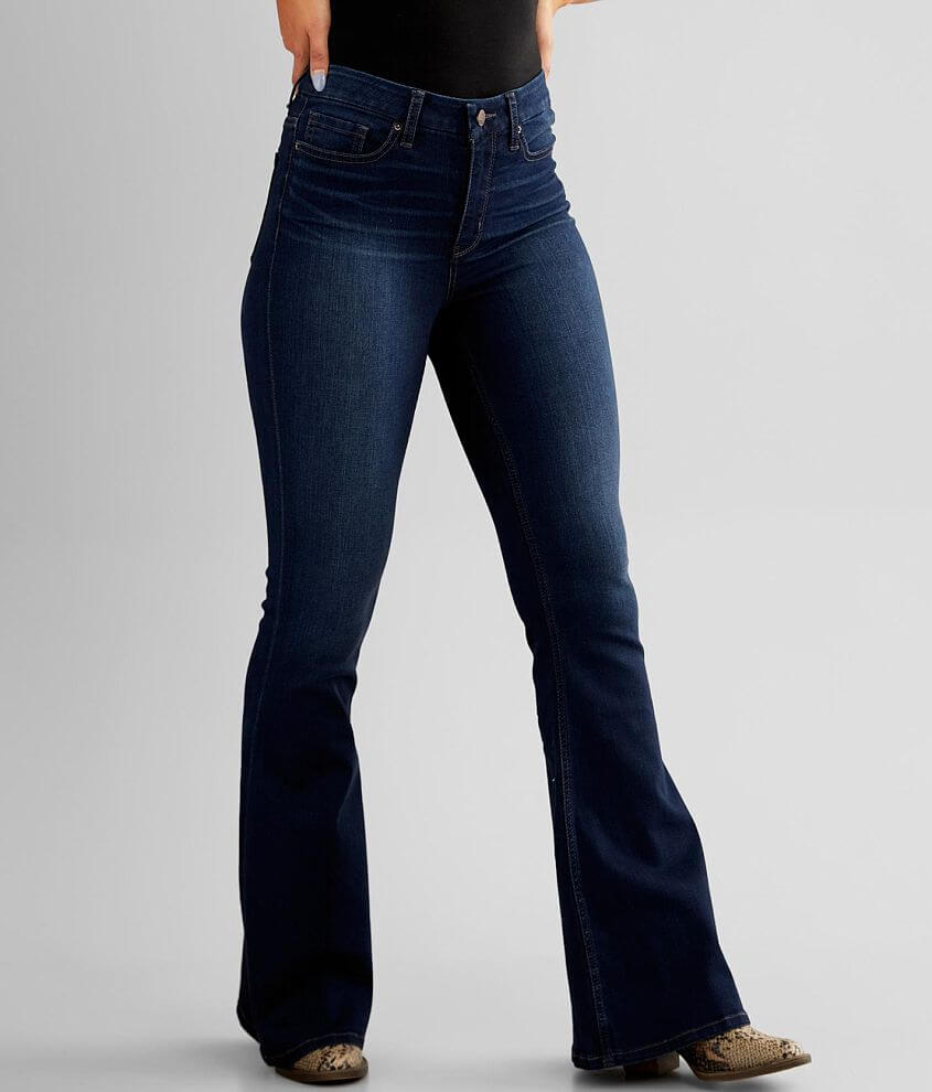 BKE Parker Super Flare Stretch Jean front view