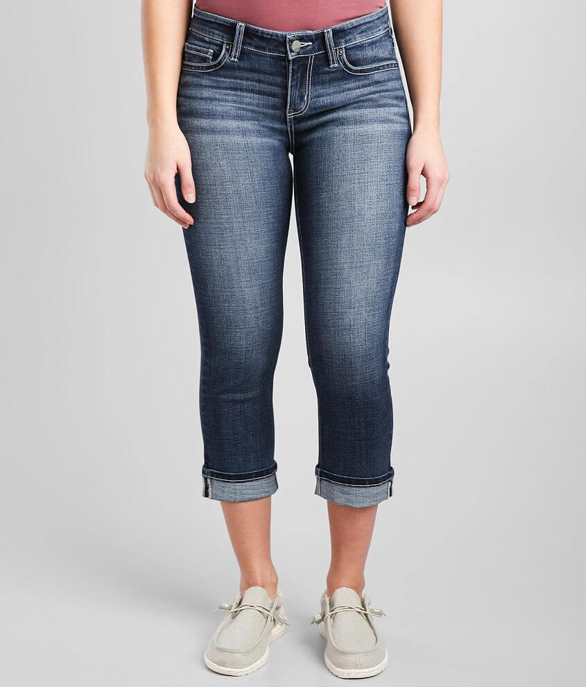 BKE Victoria Stretch Cropped Jean front view