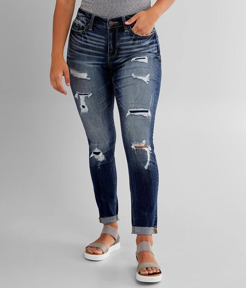 BKE Gabby Ankle Skinny Jean front view