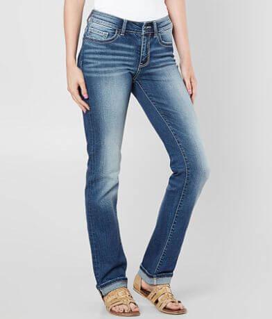 BKE Stella Mid-Rise Straight Jean