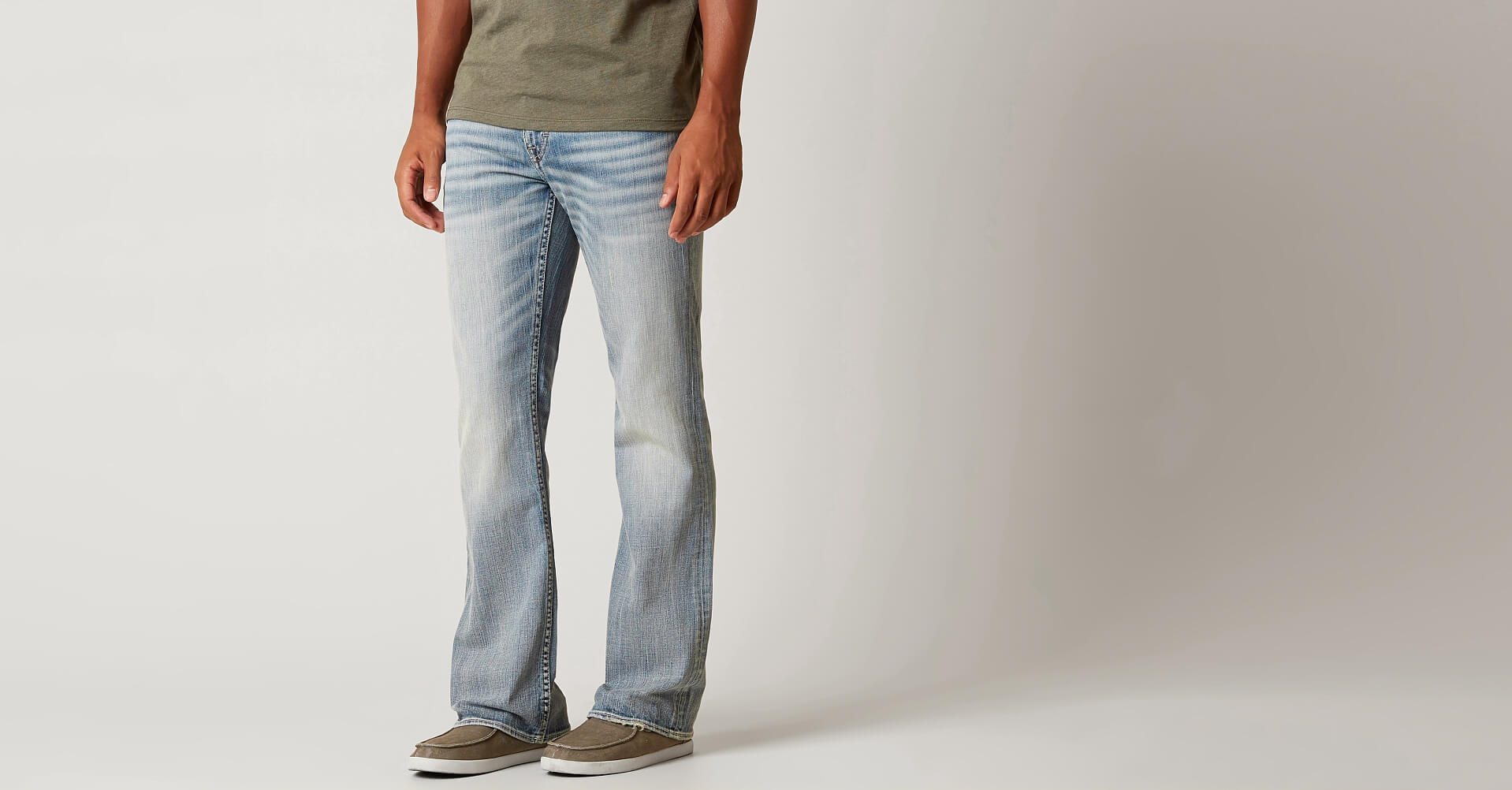 Mens jeans design legends jeans - Bke Fulton Boot Stretch Jean