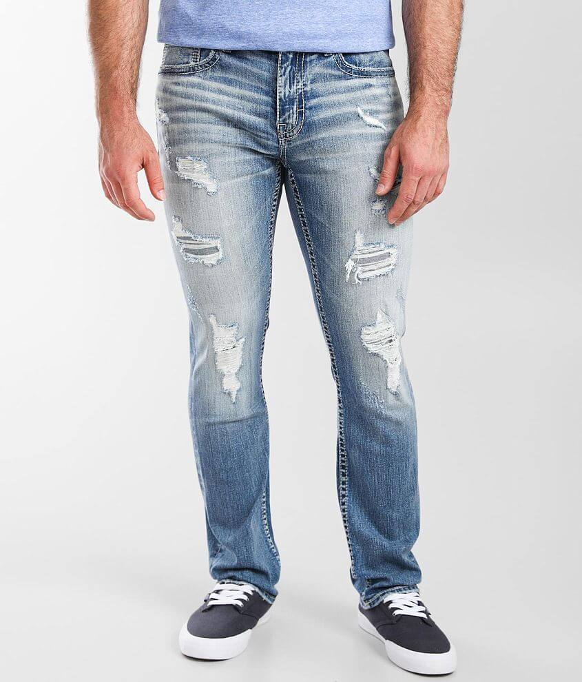 BKE Alec Straight Stretch Jean front view