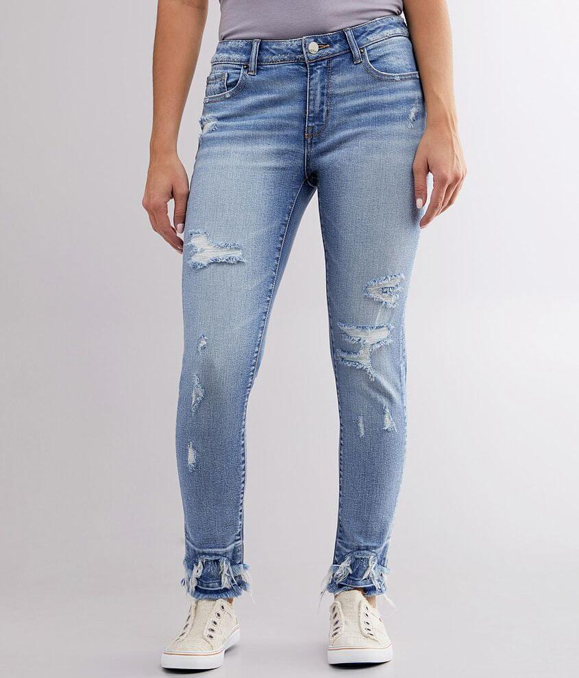 BKE Stella Mid-Rise Ankle Skinny Stretch Jean front view