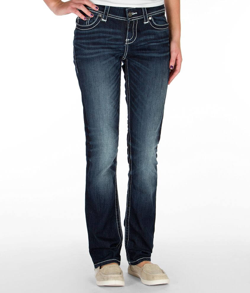 BKE Payton Straight Stretch Jean front view