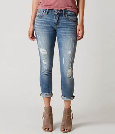 BKE Stella Mid-Rise Stretch Cropped Jean