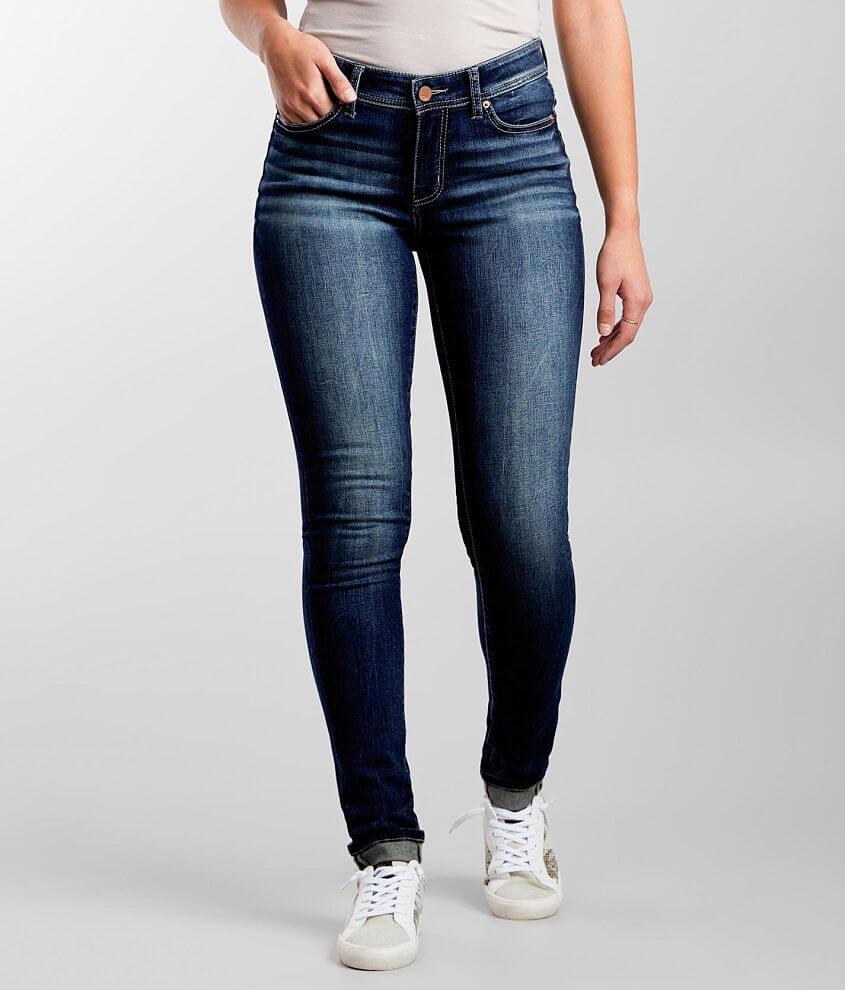 BKE Gabby Skinny Stretch Cuffed Jean front view