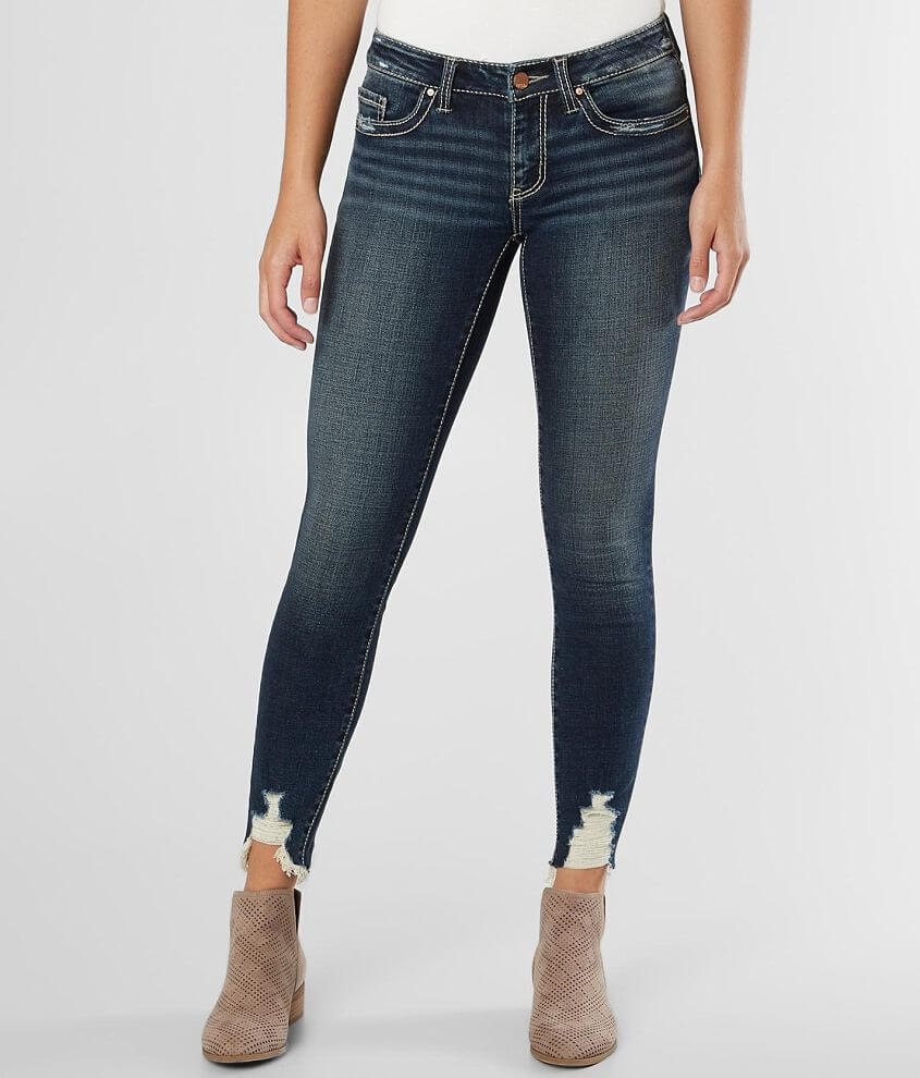 BKE Stella Low Rise Ankle Skinny Stretch Jean front view