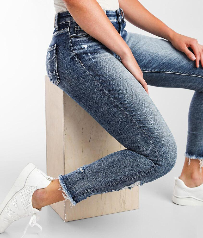 BKE Gabby Ankle Skinny Stretch Jean front view