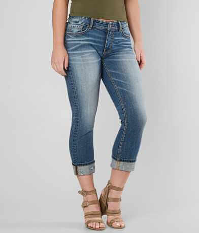 BKE Payton Mid-Rise Stretch Cropped Jean