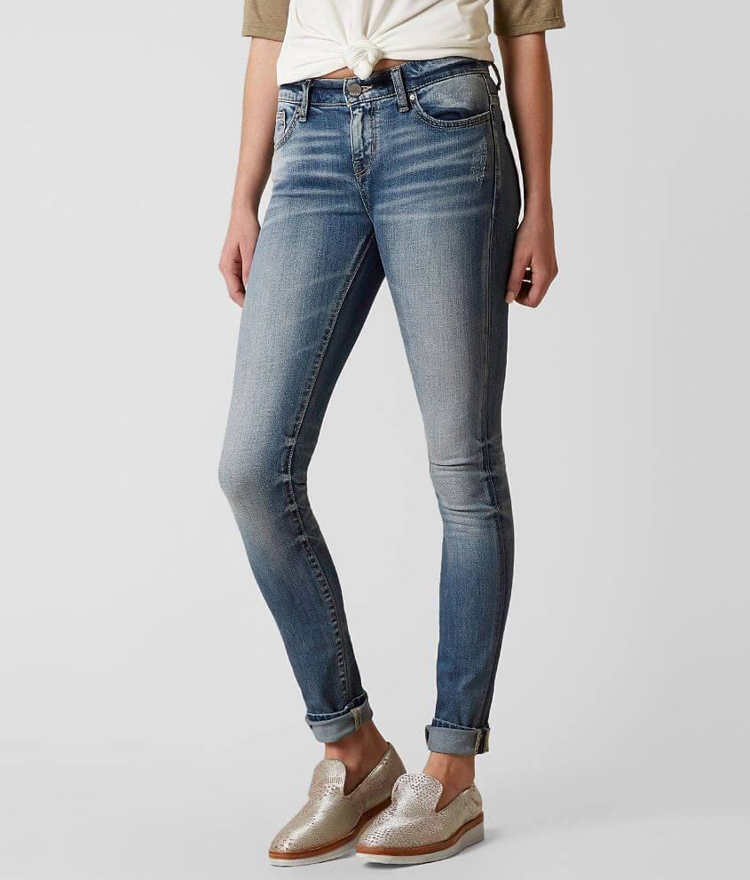 BKE Stella Mid-Rise Skinny Stretch Jean front view