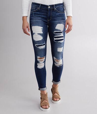 BKE Payton Ankle Skinny Cuffed Stretch Jean