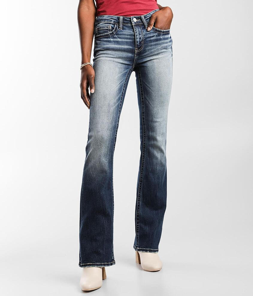 BKE Stella Mid-Rise Boot Stretch Jean front view