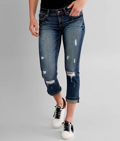 BKE Stella Ankle Skinny Stretch Cuffed Jean