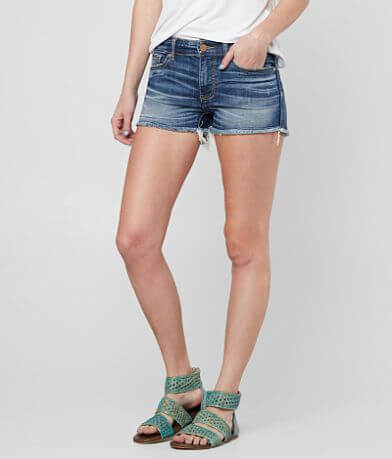 BKE Stella Mid-Rise Stretch Short