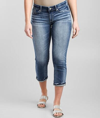 BKE Payton Cropped Stretch Cuffed Jean